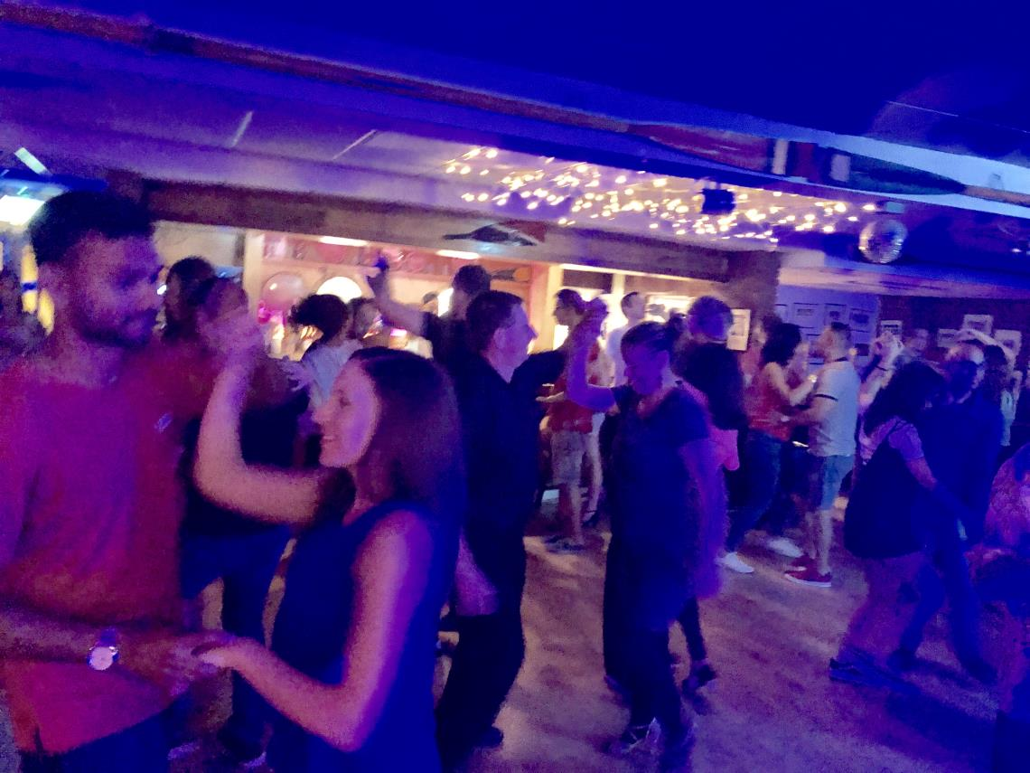 Dancing at The Rowing Club Oxford